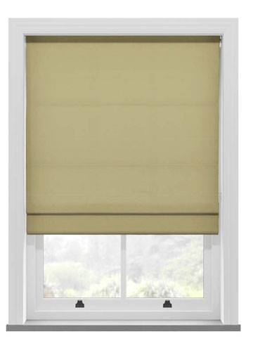 Roman Blinds Panama Mink
