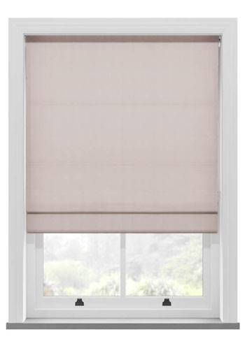 Roman Blinds Santiago Cotton Pink Blush