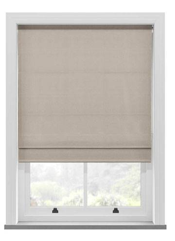 Roman Blinds Urban Metallic Cream