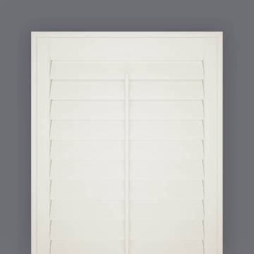 Shutters Full Height Hampton Express Silk White