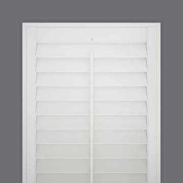 Shutters Full Height Hampton Express Vivid White