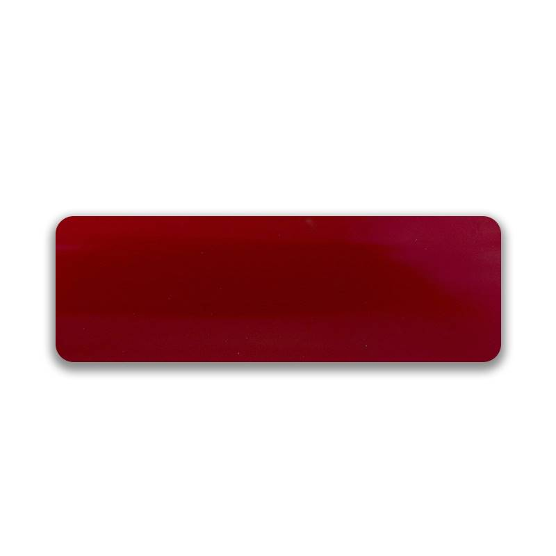 Turin 25mm Metallic Red