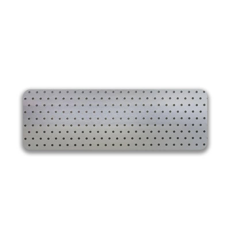 Turin 25mm Perforated Aluminium