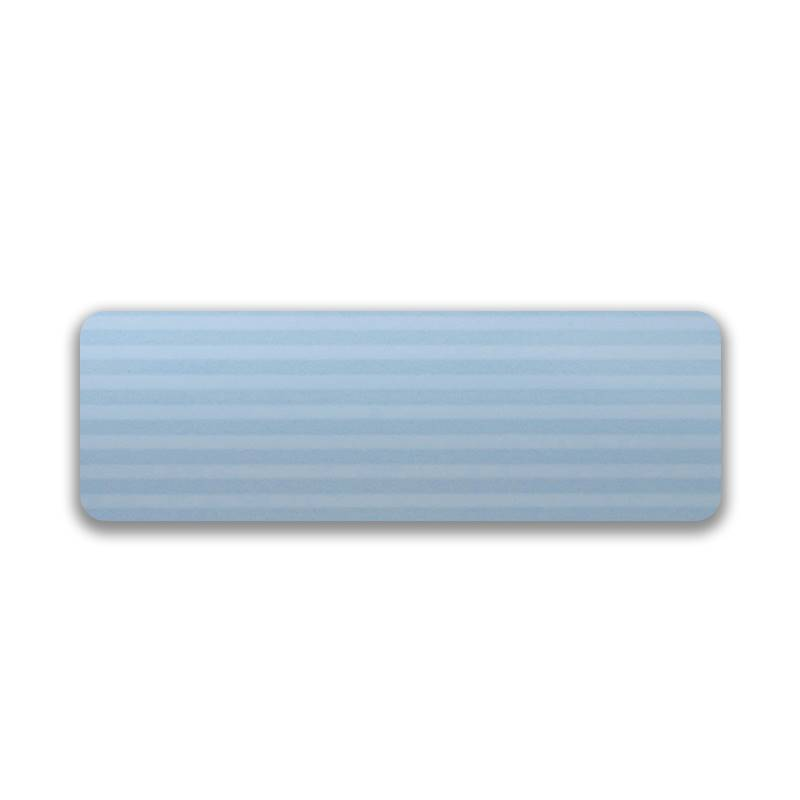 Turin 25mm Striped Cool Blue
