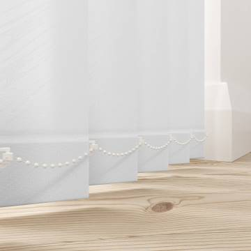 Vertical Blinds Amaris White