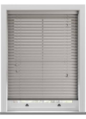 Wooden Blinds Amazon Grained Light Grey