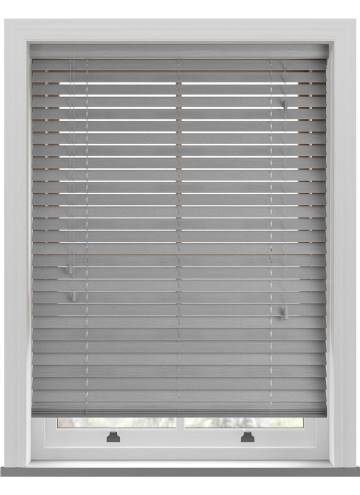 Wooden Blinds Amazon Grey Haze