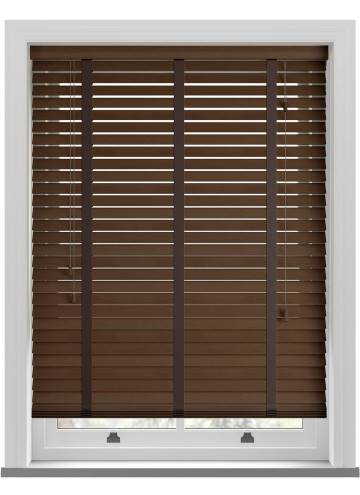 Wooden Blinds Amazon Taped Fired Walnut