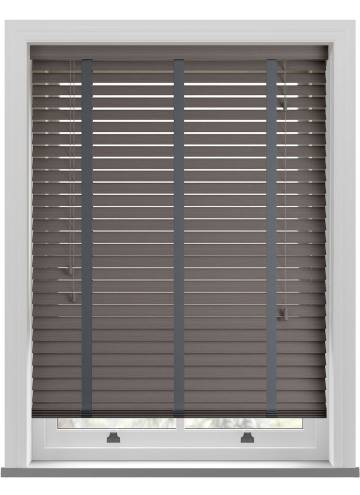 Wooden Blinds Amazon Taped Grained Steel
