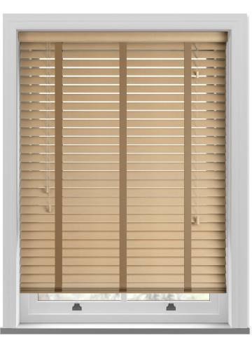 Wooden Blinds Amazon Taped Light Oak