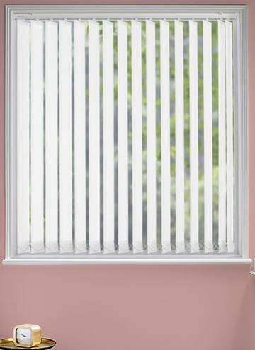 Vertical Blinds Atlantex White