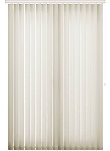 Replacement Vertical Blind Slats Bark Cream