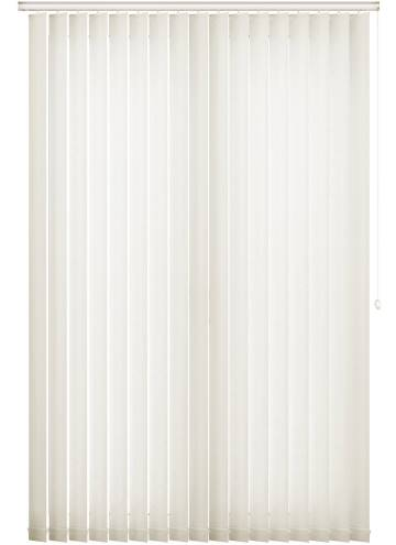 Vertical Blinds Bark White