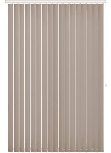 Vertical Blinds Bella Blackout Almond