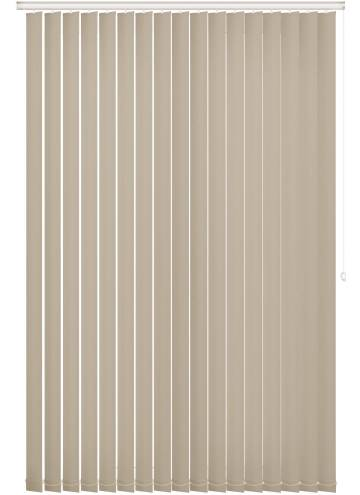 Replacement Vertical Blind Slats Bella Blackout Beige