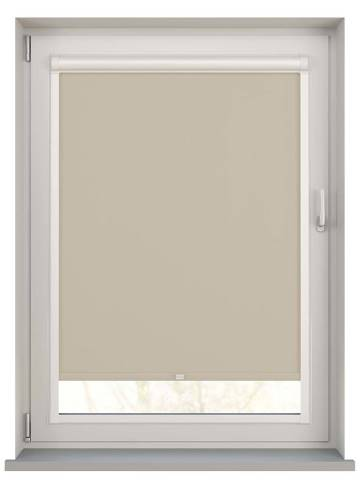 Perfect Fit Roller Blinds Bella Blackout Beige
