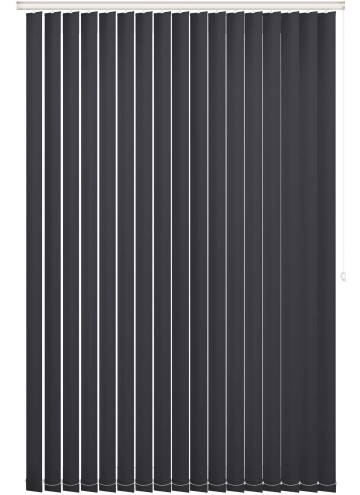 Vertical Blinds Bella Blackout Black
