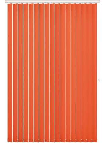 Replacement Vertical Blind Slats Bella Blackout Bright Orange