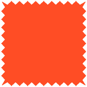 Bella Blackout Bright Orange