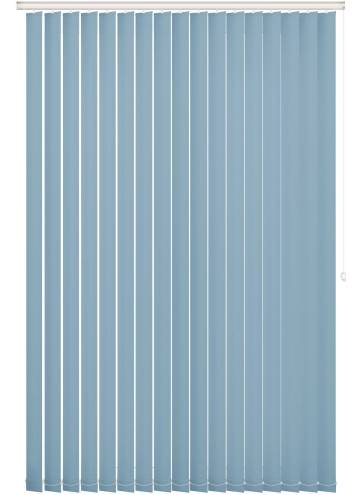 Replacement Vertical Blind Slats Bella Blackout Brittany Blue