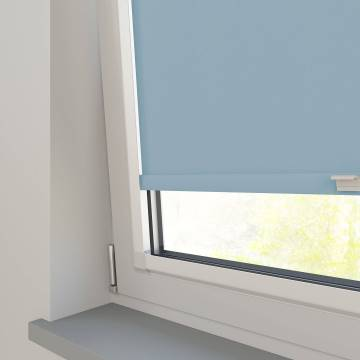 Perfect Fit Roller Blinds Bella Blackout Brittany Blue