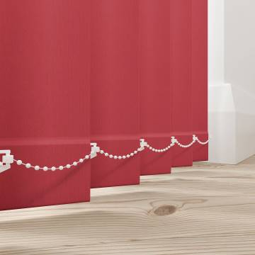 Vertical Blinds Bella Blackout Chilli Red