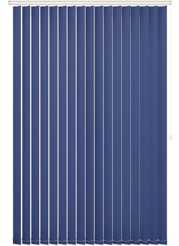 Vertical Blinds Bella Blackout Classic Blue