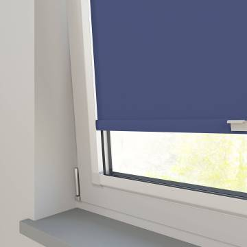 Perfect Fit Roller Blinds Bella Blackout Classic Blue
