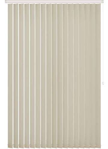 Vertical Blinds Bella Blackout Cream