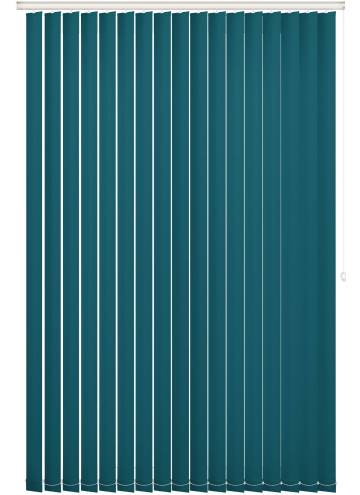 Replacement Vertical Blind Slats Bella Blackout Dark Teal Blue