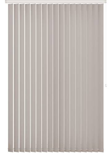 Vertical Blinds Bella Blackout Dove Grey