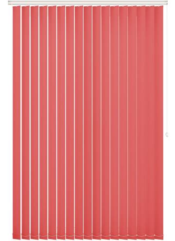 Replacement Vertical Blind Slats Bella Blackout Flamingo Pink