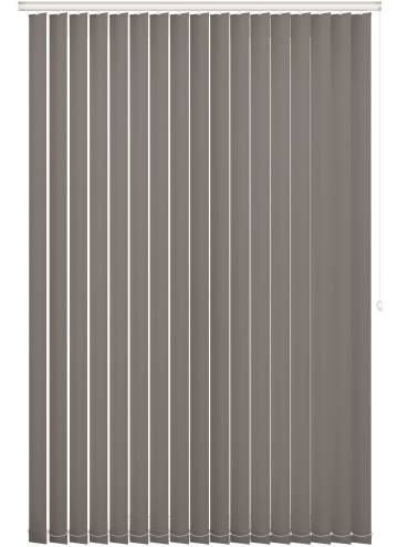 Vertical Blinds Bella Blackout Flint Grey