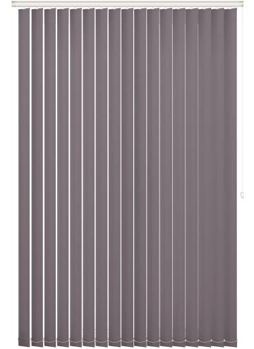 Replacement Vertical Blind Slats Bella Blackout Fossil Grey