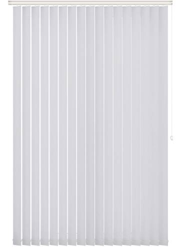 Vertical Blinds Bella Blackout Frost White