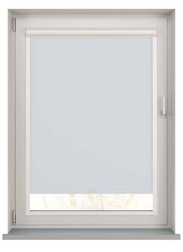 Perfect Fit Roller Blinds Bella Blackout Frost White