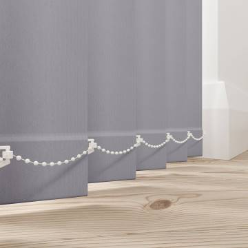 Vertical Blinds Bella Blackout Grey