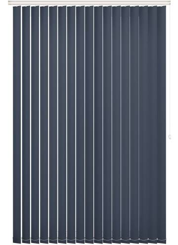 Replacement Vertical Blind Slats Bella Blackout Indigo Blue