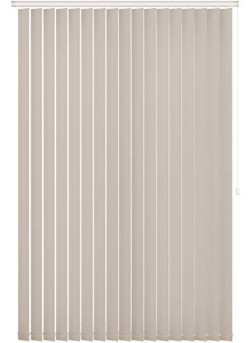 Replacement Vertical Blind Slats Bella Blackout Ivory Off-White