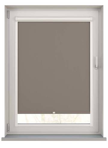 Perfect Fit Roller Blinds Bella Blackout Latte Brown