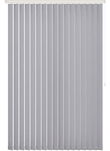 Vertical Blinds Bella Blackout Light Grey