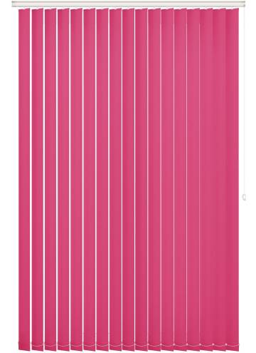 Replacement Vertical Blind Slats Bella Blackout Lipstick Pink