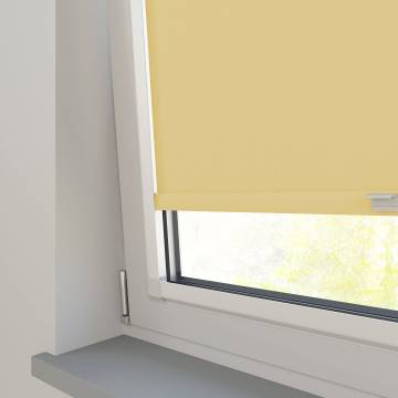 Perfect Fit Roller Blinds Bella Blackout Mellow Yellow