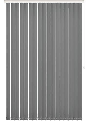 Replacement Vertical Blind Slats Bella Blackout Mid Grey