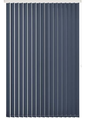 Replacement Vertical Blind Slats Bella Blackout Midnight Blue