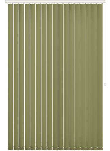 Replacement Vertical Blind Slats Bella Blackout Moss Green