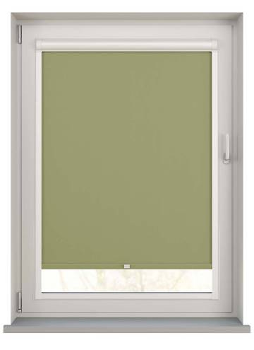 Perfect Fit Roller Blinds Bella Blackout Moss Green