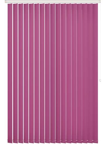 Vertical Blinds Bella Blackout Orchid Purple