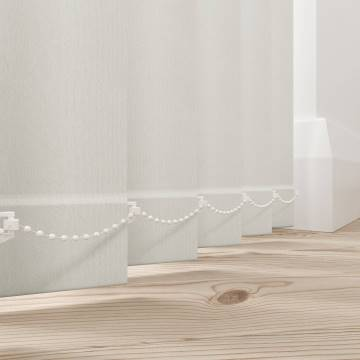 Vertical Blinds Bella Blackout Paper White