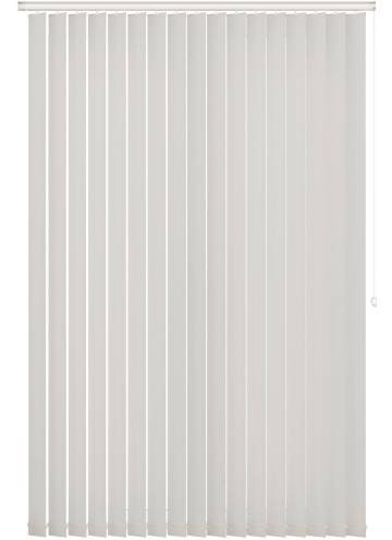 Replacement Vertical Blind Slats Bella Blackout Paper White